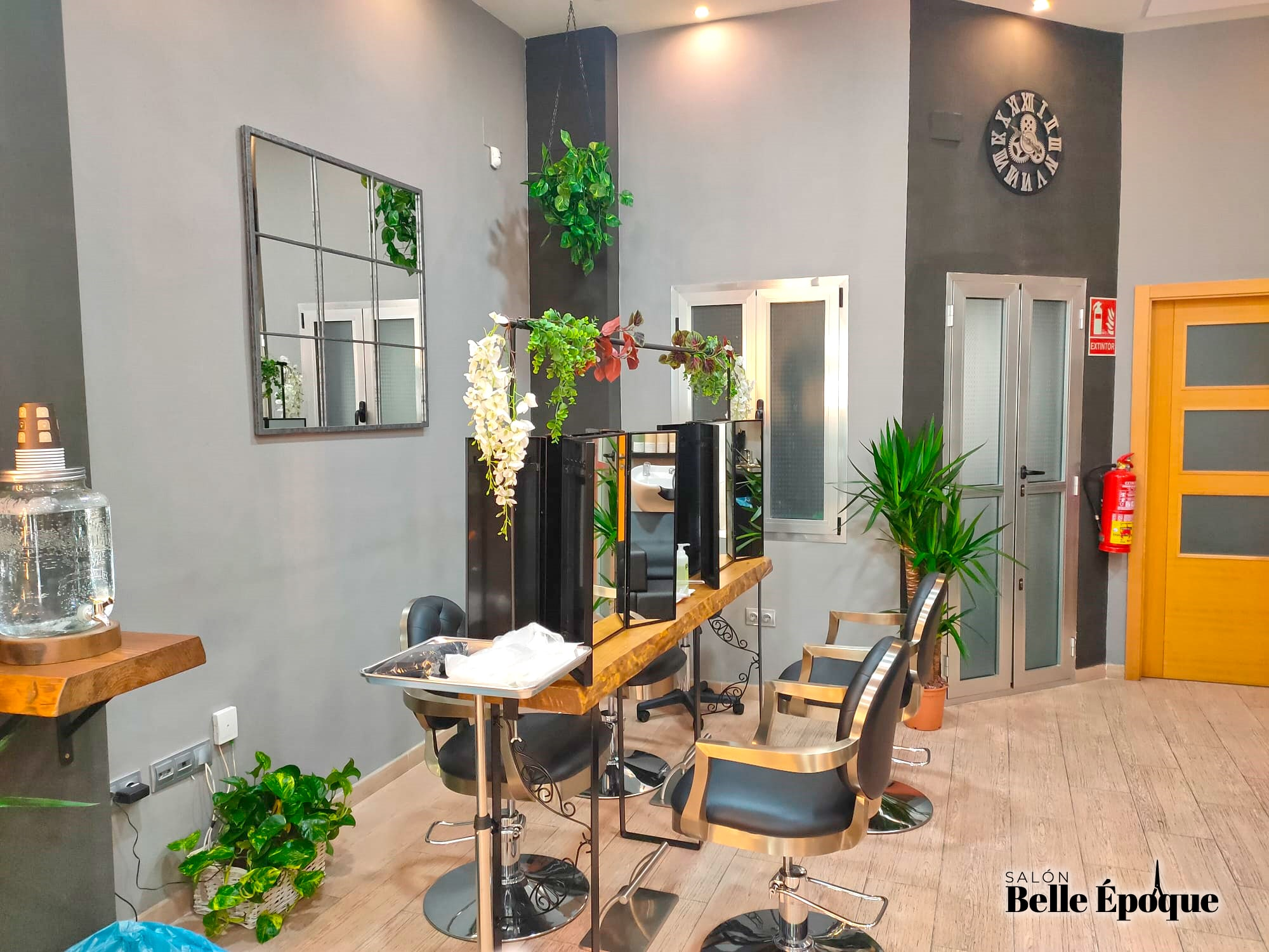 Zona de Maquillaje Salón Belle Époque